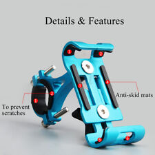 Aluminum Phone Holder Mount For Bicycle MTB Bike Motorcycle Handlebar For