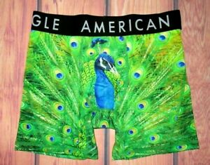 MENS AMERICAN EAGLE PEACOCK FLEX BOXER BRIEF SIZE XL (40/42)