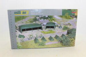 Herpa 745826 herpa Military Kit Tents (7 Piece) 1:87 H0 New Original Packaging
