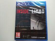 INSIDE + LIMBO DOUBLE PACK PS4  PLAYSTATION 4 PLAY 4 PRECINTADO SEALED
