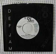 L. L. COOL J I'm That Type Of Guy Orig '89 DEF JAM Promo 45 Hip Hop Classic EX