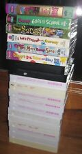 Rare Barney & Friends Vhs Tapes Huge Lot 19 Collectible HTF VTG Educational