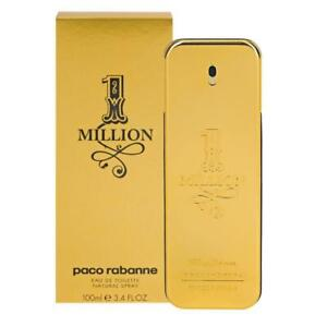 Paco Rabanne 1 Million Eau De Toilette 100ml Genuine New Free Postage