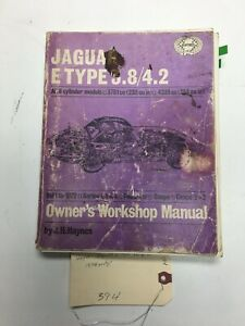 Haynes Jaguar E Type 3.8/4.2 only 6 Cylinder Models Owners Workshop Manual limit