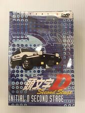 Initial D Second Stage  First, Second, Third  DVD Set NEW