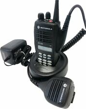 Motorola HT1250 VHF Two Way Radio 136-174 MHz 128Ch MDC QuikCall AAH25KDH9AA6AN
