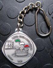 MOTO CLUB MONASTIER 29. Motoraduno 2004 SCHLÜSSELANHÄNGER Plakette Medaille gut