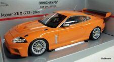 Mininchamps SCALA 1/18 - 150 081391 Jaguar XKR GT3 2008 Arancione Modello Diecast Auto