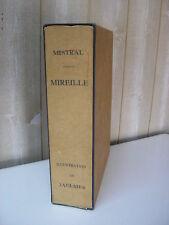 MISTRAL / MIREILLE 20 aquarelles de JAULMES 1945 tirage à 315 exemplaires