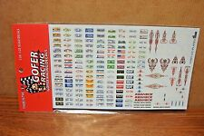 GOFER RACING DECALS LICENSE PLATES 1/24-1/25 SCALE