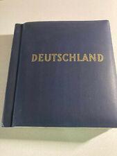Vintage Schaubek Deutschland Album NO STAMPS Nice Condition