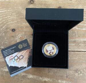 £2 Coin Silver Proof London Olympics 2008 Handover To Rio BOX + COA Royal Mint