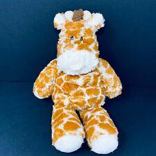 """Mary Meyer Giraffe Plush Marshmallow Zoo Rust Orange White 14"""" Stuffed Animal"""