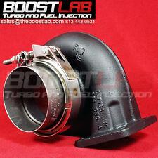 "Borg Warner S200SX S300SX3 Down Pipe V-Band Kit **3.5"" MILD STEEL**"