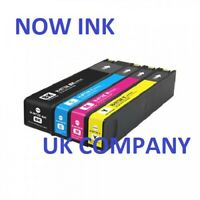 4 Full Set Ink Cartridges compatible for HP 973X PageWide Pro 452dw 452dwt 477dn