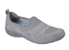 Skechers Women's Size 7 MOONSHADOW Gray Walking Comfort Sneaker Shoes 23054
