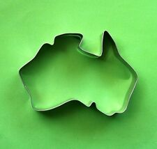 Australia map shaped party Pastry fondant stainless steel metal cookie cutter