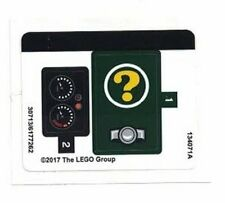 LEGO BATMAN The Riddler Riddle Racer STICKER SHEET ~ Replacement for Set # 70903