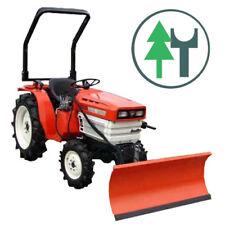 Traktor Schlepper Kubota B1600 Allrad hydraulischem 120cm Schneeschild gebr.