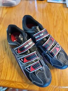 Pearl Izumi Cycling men's Shoes US 9.5 Eur 43 Neutral Forefoot two bolt Cleats