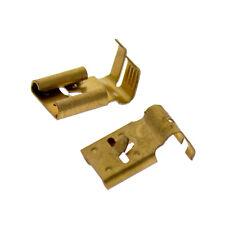 Flachsteckhülse seitlich Rastzunge 7,7x0,8mm 0,5-1,5mm² Bronze Kabelschuhe 50Stk