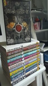 Manga Kana Death Note Tome Complet Integrale 1 a 12 + le 13. Comme neuf !