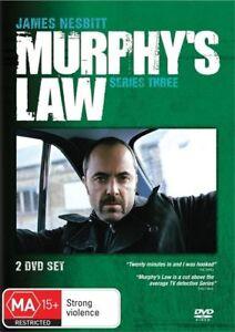 Murphy's Murphys Law DVD Series 3 Genuine 2 Disc Set New & Sealed Australia R4