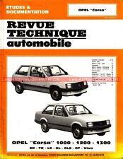 OPEL Corsa 1000 1200 1300 SR TR LS GL GLS Viva : Revue Technique Auto