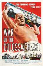 War Of Colossal Beast Poster 01 Metal Sign A4 12x8 Aluminium