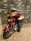 Popeye Outlaw Cast Iron Motorcycle Collector Sailor