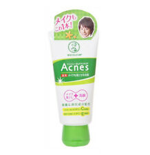ROHTO Mentholatum Acnes Medicated Make Up Cleanser & Face Wash 130g