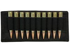 MidwayUSA Black Nylon Small Rifle Belt Cartridge Carrier 5.56 223 Rem 10 Round