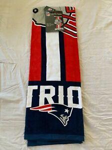 "New England Patriots NFL 30"" x 60"" Beach Towel McArthur Brand New"