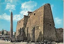 BF17735  egypt luxor obelisk and pylans of ramses II front/back image