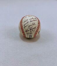 "Rich ""Goose"" Gossage Signed & Inscribed Baseball - LSM, COA, Mounted Memories"