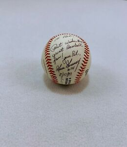 "Rich ""Goose"" Gossage Signed & Inscribed Baseball - LSM, COA, Mounted Memories"