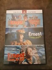 Ernest Goes to Camp/Ernest Scared Stupid/Ernest Goes to Jail Triple Feature OOP