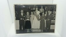 Vintage Photo Hoover Festival Queen Award Ceremony Stage Presentation