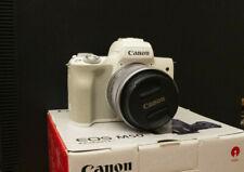 Canon EOS M50 Mirrorless Camera 24.1mp + 15-45mm EF M Kit lens + WiFi + extras