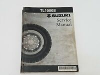 Suzuki OEM Motorcycle TL1000S Service Manual From 1997