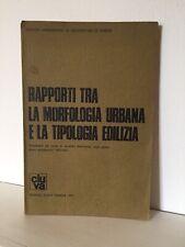Aldo Rossi Aymonino Rapporti Tra Morfologia Urbana e Tipologia Edilizia CLUVA