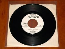 "IRON MAIDEN RUN TO THE HILLS *RARE* 7"" TEST PRESSING VINYL 1982 CAPITOL ARCHIVE"