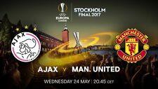 Europa League 2017 Final Ajax - Manchester United 0-2 DVD Full Match