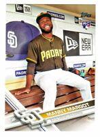 2017 Topps PHOTO VARIATION #401 MANNY MARGOT RC Rookie San Diego Padres SP VAR