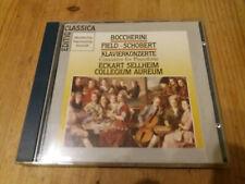BOCCHERINI FIELD SCHOBERT Fortepiano Concerto Rondo ECKART SELLHEIM CD DHM