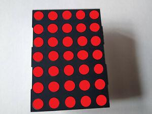 LED DISPLAY DOT MATRIX 5X7 ( Bi Color RED/GREEN) Cheapest on Ebay ) Brand New