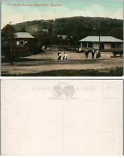 THE INCLINE RAILWAY MT.ROYAL PARK MONTREAL CANADA ANTIQUE POSTCARD