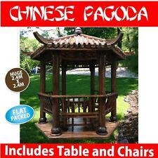 Chinese Pagoda China Hut *D.I.Y* - Gazebo 2.8m Asian garden *Nicer than Bali Hut