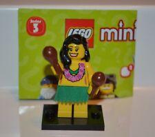 LEGO Series 3 Minifigures HULA GIRL Complete Mini Figure Building Toy