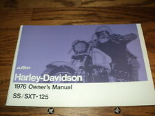 Motorcycle parts for harley davidson ss125 ebay new listing1976 harley aermacchi ss 125cc owners manual amf fandeluxe Choice Image